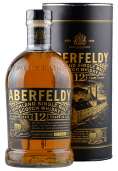 Aberfeldy - 12 Years -  Highland Single Malt Scotch Whisky - 0,7 Liter | Aberfeldy Distillery | Schottland
