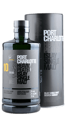 Port Charlotte - 10 Years - Heavily Peated - Islay Single Malt Scotch Whisky - 0,7 Liter | Bruichladdich | Schottland