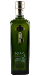 No. 3 London Dry Gin - England - 0,7 Liter | Berry Bros & Rudd | England