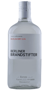 Berliner Brandstifter - Edition 2/20 - Dry Gin -  Berlin - Deutschland - 0,7 Liter | Berliner Brandstifter | Deutschland