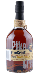 Pike Creek - 10 Jahre -  Canadian Whisky - 0,7 Liter | Corby Wine & Spirit Ltd. | Kanada