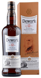 Dewar's - 12 Years - Blended Scotch Whisky - 0,7 Liter | John Dewar & Sons | Schottland