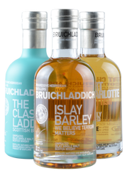 Wee Laddie Tasting Collection - 3 x 200 ml -  Islay Single Malt Scotch Whisky | Bruichladdich | Schottland