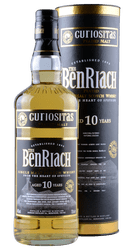 BenRiach - Curiositas - 10 Years - Peated Malt -  Single Malt Scotch Whisky  - 0,7 Liter | Benriach Distillery | Schottland