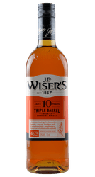 J.P. Wiser's - 10 Years - Triple Barrel -  Canadian Whisky - 0,7 Liter | J.P. Wiser's | Kanada