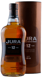 Jura - 12 Years - Single Malt Scotch Whisky - 0,7 Liter | Jura Distillery | Schottland