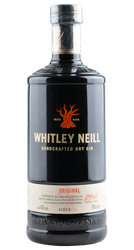 Whitley Neill - Handcrafted Dry Gin - Small Batch - England - 0,7 Liter | Whitley Neill | England