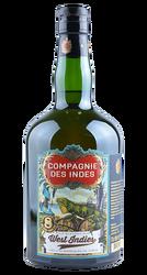 West Indies - Old Blended Rum - 8 Jahre - Frankreich - 0,7 Liter | Compagnie des Indes | Frankreich